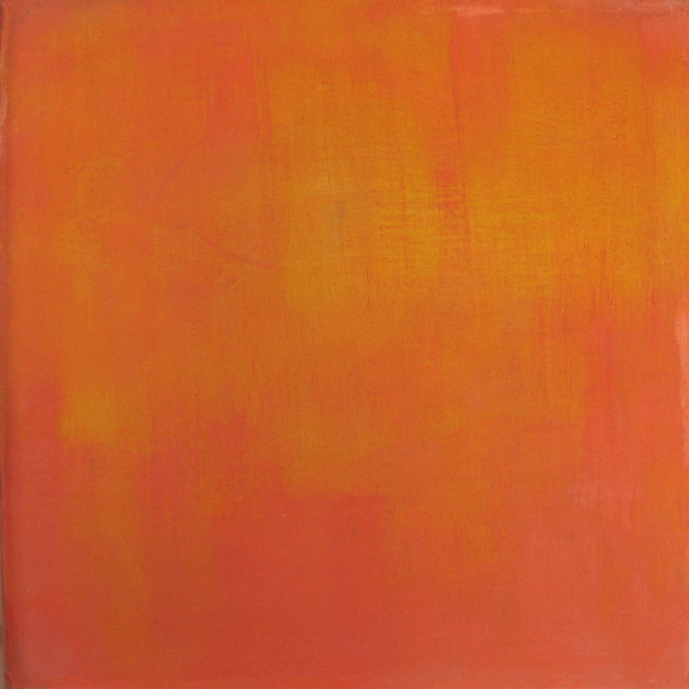 orange brushwork