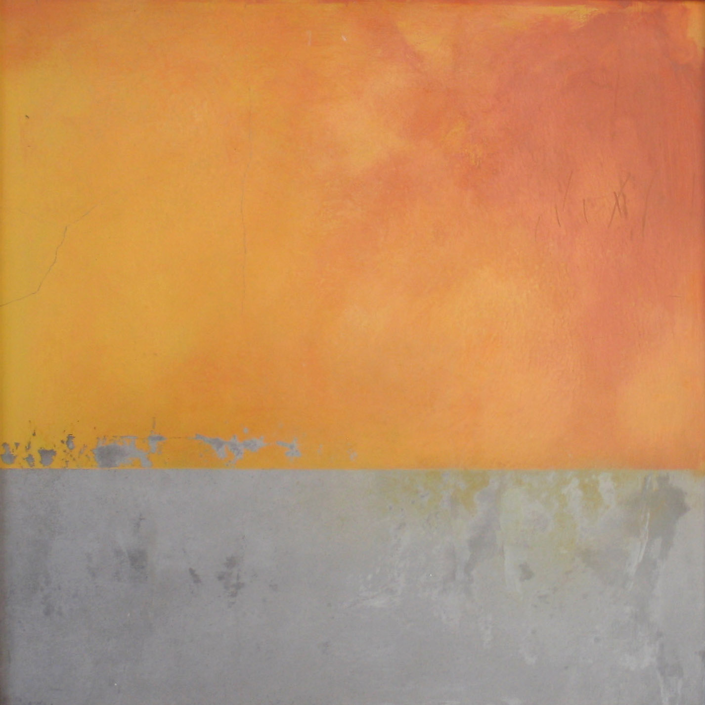 orange over grey II