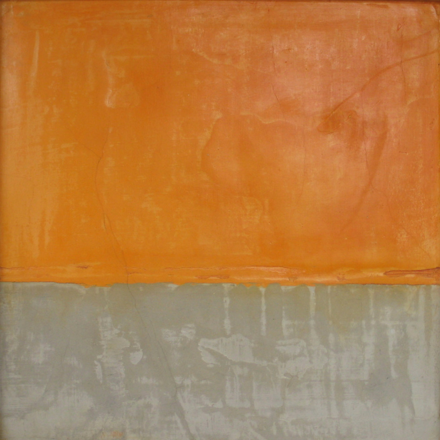 orange over grey III