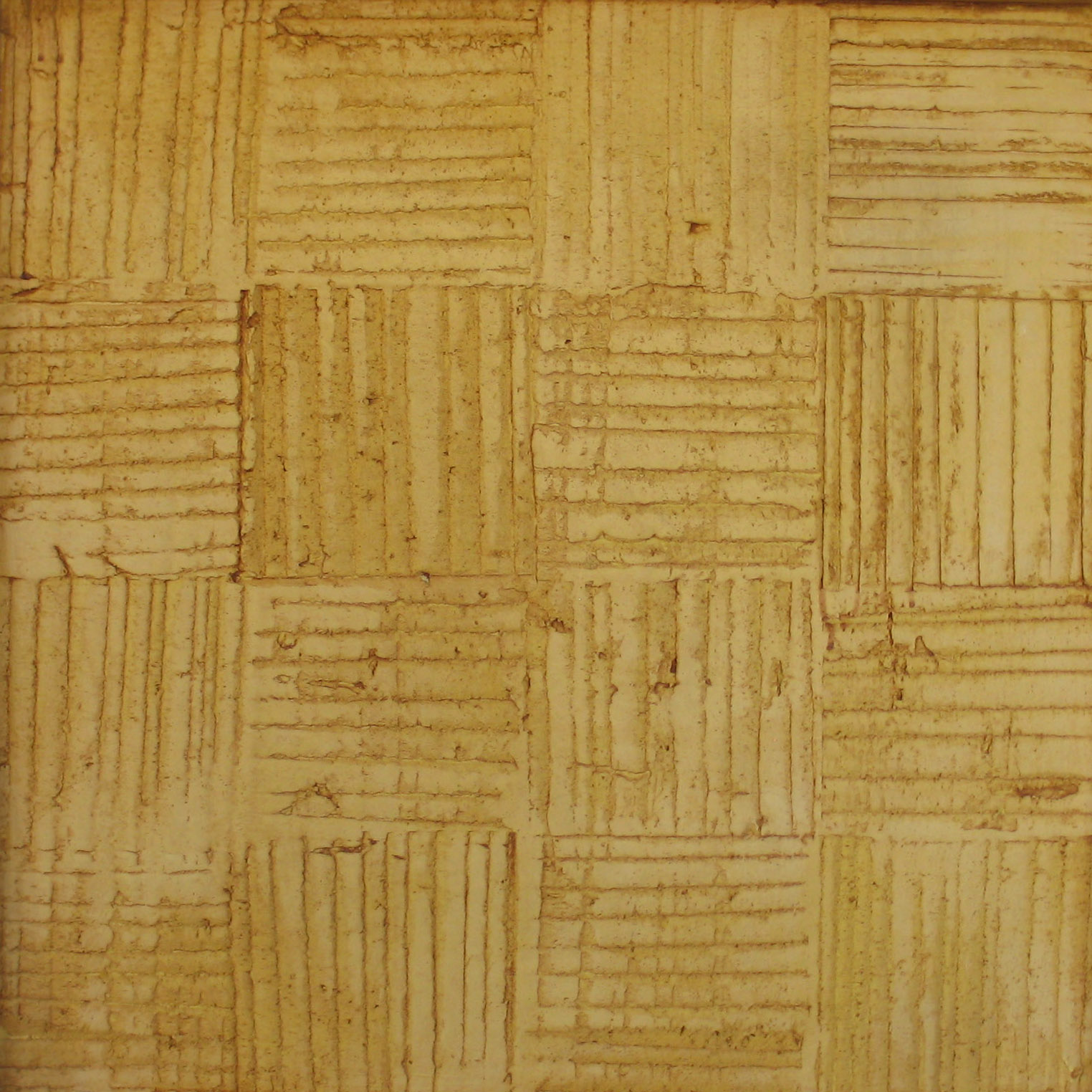 woven plaster yellow